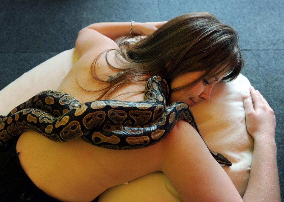 массаж для смелых