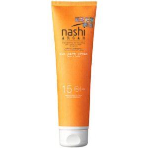 Солнцезащитный крем NASHI ARGAN SPF15 150мл NS00921